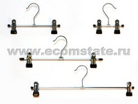 metal hangers with clips